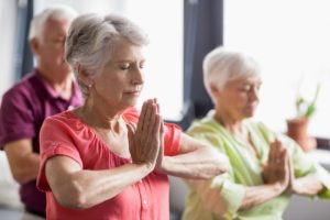 Yoga in Aged Care